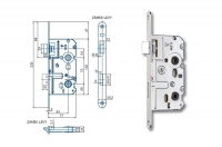 Spynos mechanizmas K222