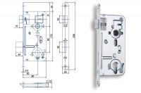 Spynos mechanizmas 24026