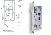 Spynos mechanizmas K104