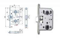 Spynos mechanizmas K053