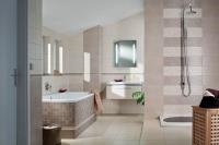 Textile plytelės voniai
