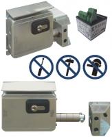 Slankiojančių vartų elektromechaninė spyna 7905